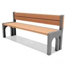 Z02园林椅 公园座椅
